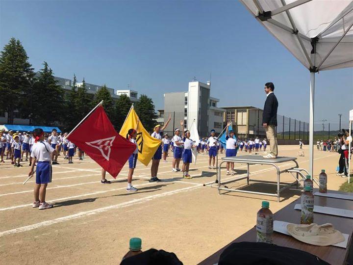 富山市立芝園小学校運動会