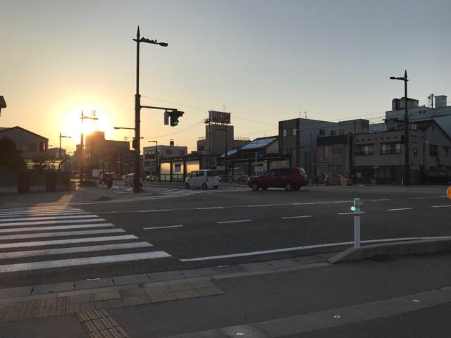 富山市 朝の挨拶運動