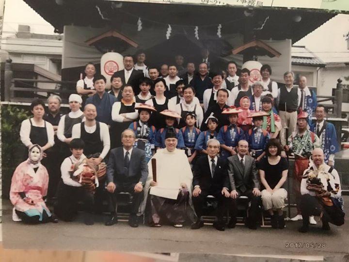 富山市議会 諏訪社春季例大祭の獅子舞